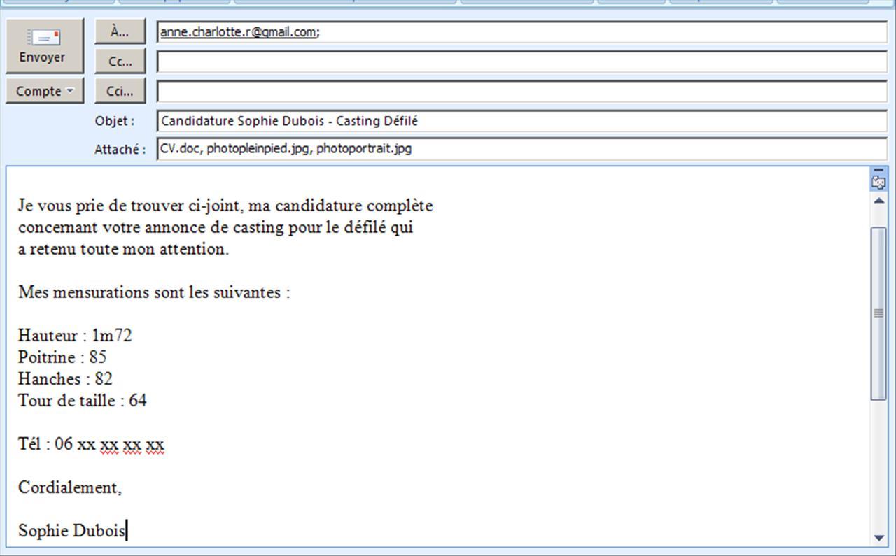 mail candidature spontan u00e9e  comment parvenir  u00e0 attirer l